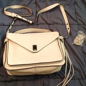 Rebecca Minkoff Darren Messenger Bag - white